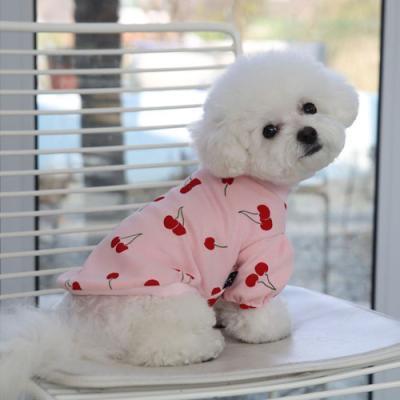 체리퍼프티셔츠 핑크