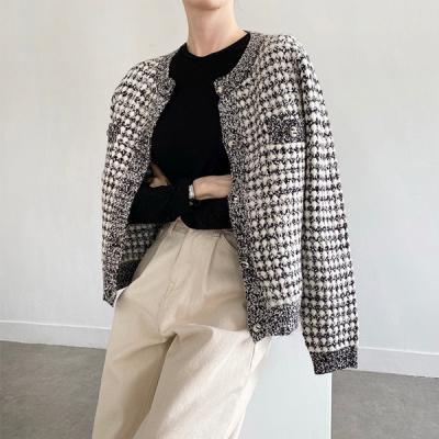 Tweed Twinkle Knit Cardigan
