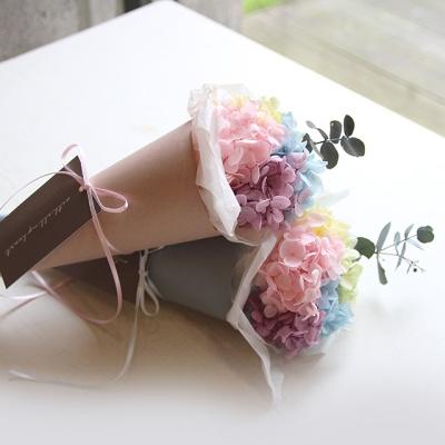 레인보우수국꽃다발(프리저브드)
