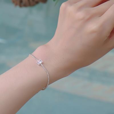 [Uni.J] i_b34 - big crystal rope bracelet