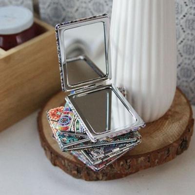 컴팩트 사각 거울 1P 디자인 임의배송