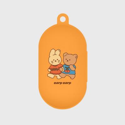 nini friends-orange(buds jelly case)