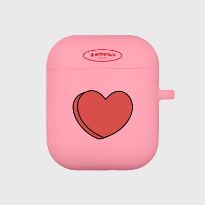 pour down love 심플 에어팟 케이스[pink]
