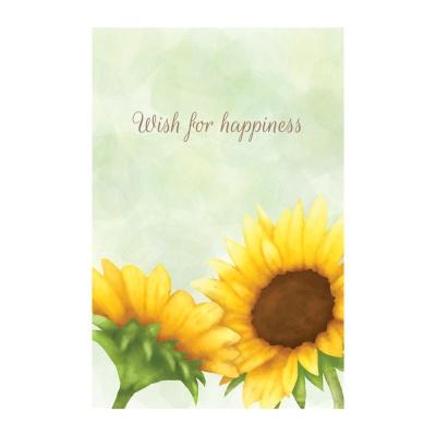왈가닥스 메세지 포스트카드 엽서 - sun flower