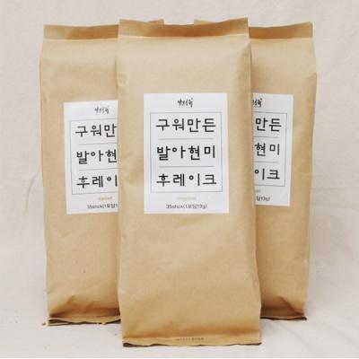 자연공유 구워만든 발아현미 후레이크 1포(35스틱)