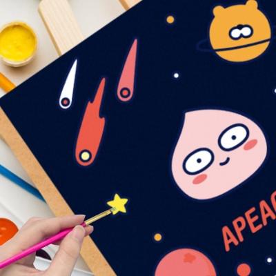 DIY 그림그리기 키트 카카오프렌즈 우주모험