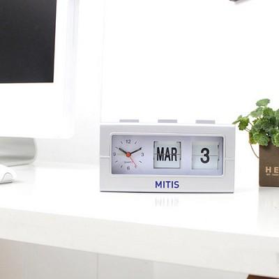 [뉴에버] (MITIS)디자인 플립 시계 Flip clock