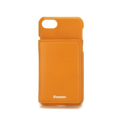 FENNEC iPHONE 7/8 TRIPLE POCKET CASE - MANDARIN