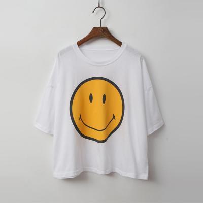 Smile Crop Tee