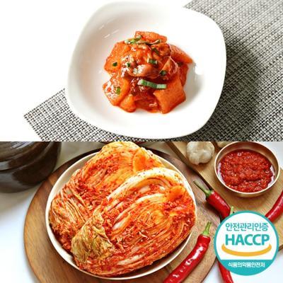 [HACCP] 한옹 꼴깍 400g + 포기김치 5kg