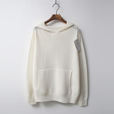 Strick Cashmere N Wool Hood Sweater