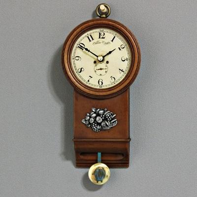 (krod002)정통엔틱 과일추시계
