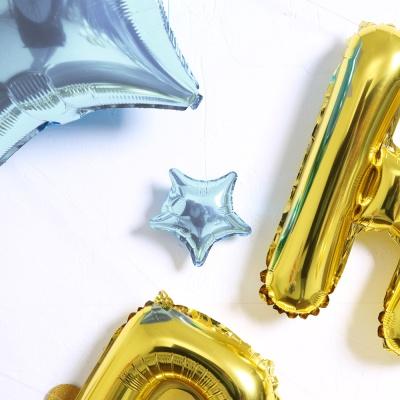 블링블링 생일파티 풍선세트(골드)