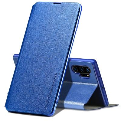 갤럭시노트10 플러스 슬림핏 가죽 플립 커버 폰케이스