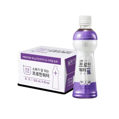 함소아소화가잘 되는 프로틴 워터 포도 325mLx20개