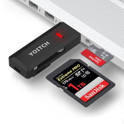 USB 2.0 블랙박스 SD 멀티 카드 리더기