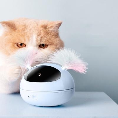 고양이 움직이는 자동 레이저 로봇 장난감