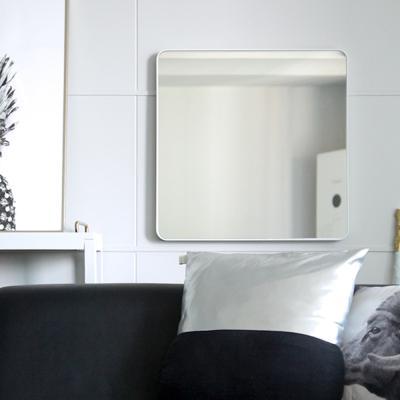 히스토릭 컬렉션 no_6004 사각거울 화이트 55x55cm