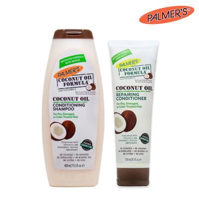 [파머스] 코코넛오일 샴푸&컨디셔너 2종세트