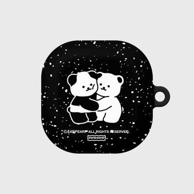 Cookie cream pattern-black(버즈라이브 하드)