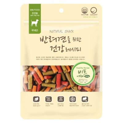 [건강레시피] 애견간식 300g