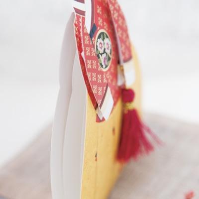 카드/축하카드/감사카드/연하장 순비자수한복카드 FT304-6
