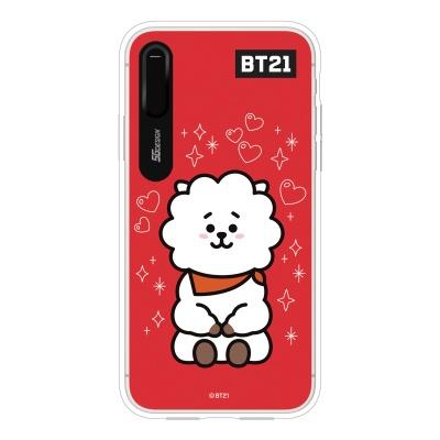 BT21 iPhoneX RJ 그래픽 라이팅 케이스 (Hybrid)
