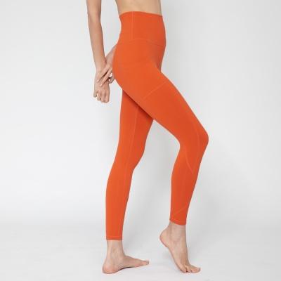 여성 트레이닝복 포켓 요가레깅스 DFW4023 오렌지