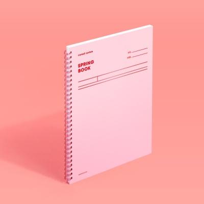 [모트모트] 스프링북 - 로즈쿼츠 (코넬시스템) 1EA