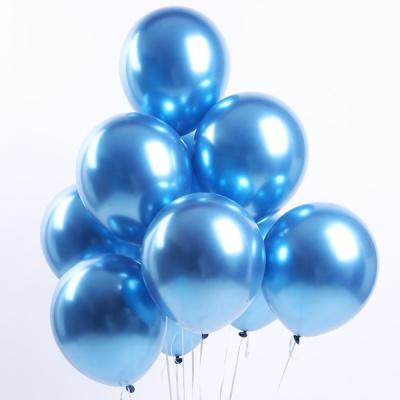 30cm 메탈 크롬풍선 (블루)