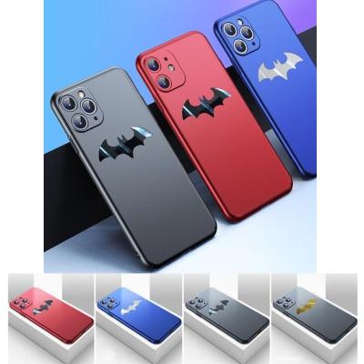 아이폰11 pro max 박쥐 로고 매트 슬림 하드 케이스