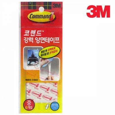 3M 17024S 코맨드 양면테이프(소) 10개입