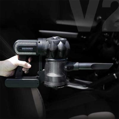 자동차 싸이클론 무선 핸디형 청소기 더쎈 V2