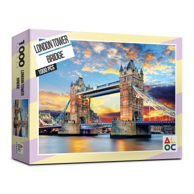 (알록퍼즐)1000피스 런던타워브릿지 직소퍼즐 AL3020