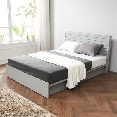 레이백 호텔식 평상형 침대 퀸+7존독립 매트리스