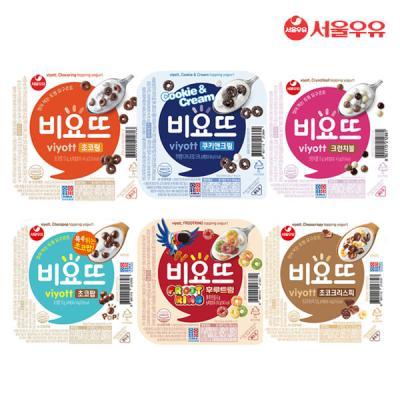 [서울우유] 비요뜨 6종 골라담기 (12개구성)