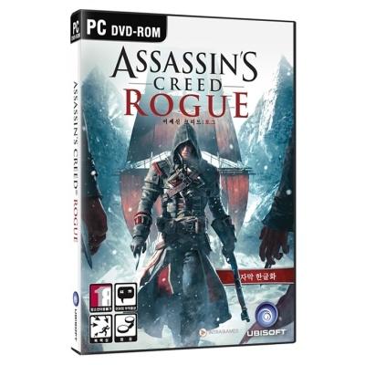 PC 어쌔신크리드 로그 한글판 (DVD패키지/새제품)