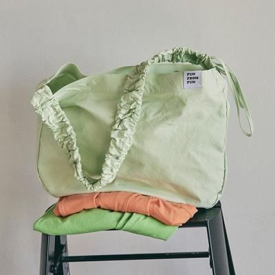 Shirring shoulder hobo bag_pink