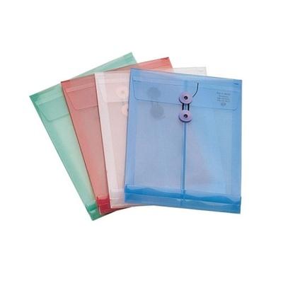문구사무 PP서류봉투(A4 청색 세로형 ATOM)