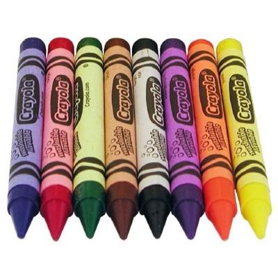 초등학생 유치원 어린이집 미술 색연필 크레용 8색