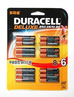 듀라셀 알카AAA(8+6알)