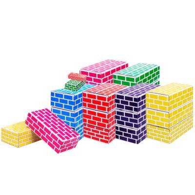 [무료배송][TOTOYZ]종이벽돌 블록 혼합(대10+소25PCS)세트