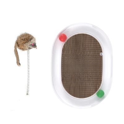 고양이 용품 장난감 캣볼 스크레쳐 쥐 CT-7779 에그