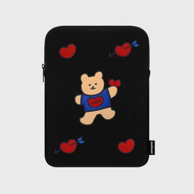 Bear heart-ipad pouch