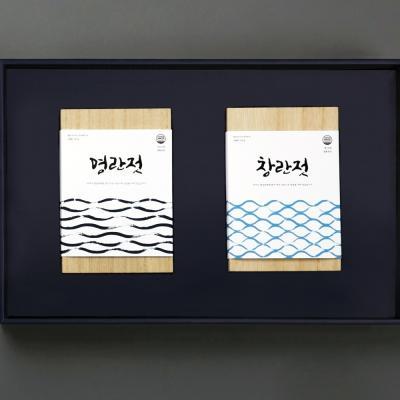 해성젓갈 3-2호 선물세트 (명란500g+창난500g)