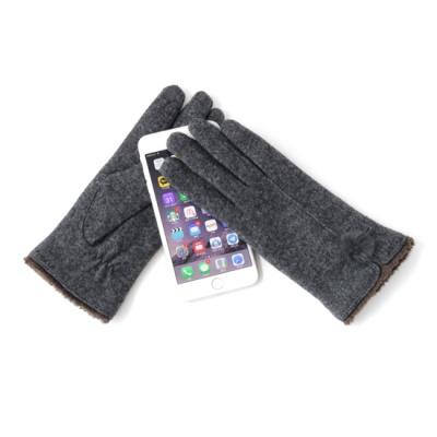 [베네]밍크방울 여자 스마트폰 장갑