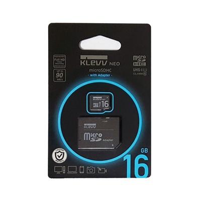 클레브 마이크로 SD카드 16GB  +어댑터 SDHC CLASS10 mSD-16G