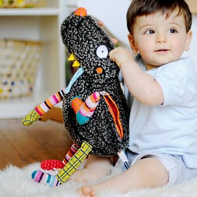 에불로보 프랑스 애착인형 울프룰루와 4개의 장난감