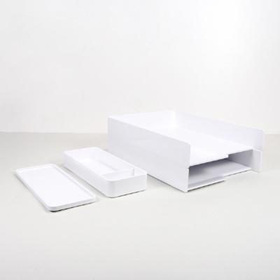 카코 KACO 레모 A4 트레이 스토리지 박스 세트