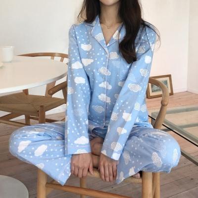 피치 기모면 구르미 퐁퐁 파자마 잠옷